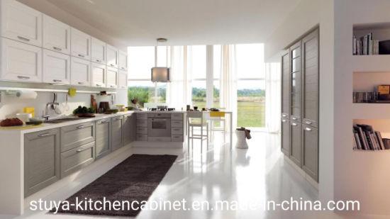 China Best Price Modern Designs Kitchen Cabinets Modular High