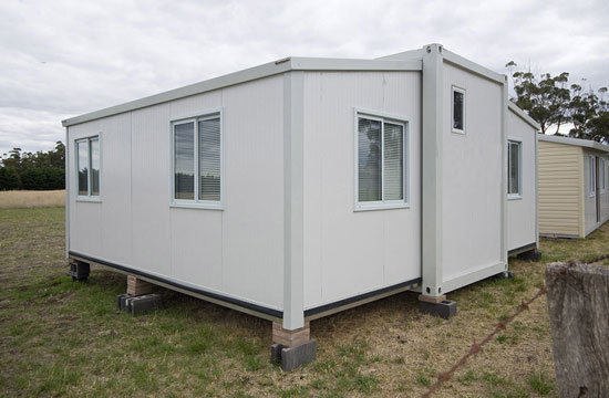 Wholesale Economical Expandable Villa Modular Prefabricated Living Container House