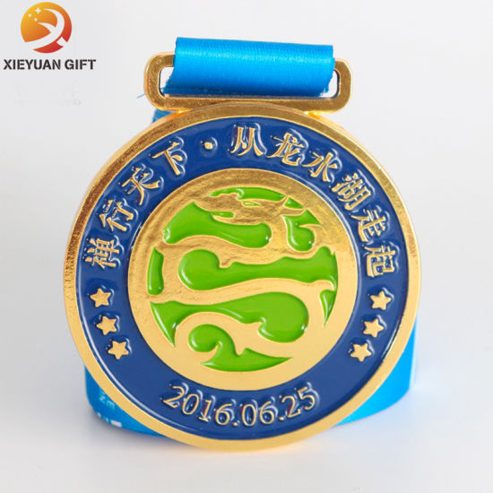 China Gold Plated Banknote Gift Customised 3D Gold Medals