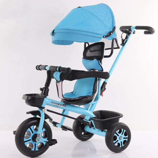 High Quality Best Price 4 in 1 Good Baby Stroller Cheap Baby Stroller Tricycle Children Tricycle