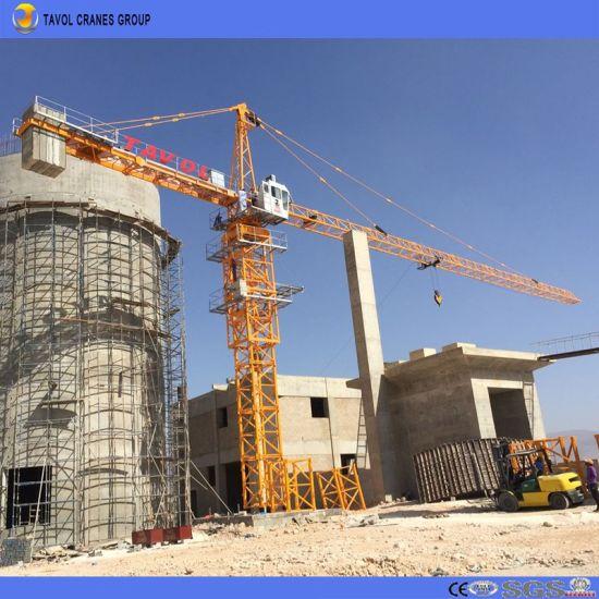 Qtz125 6015 8t Construction Crane Towers