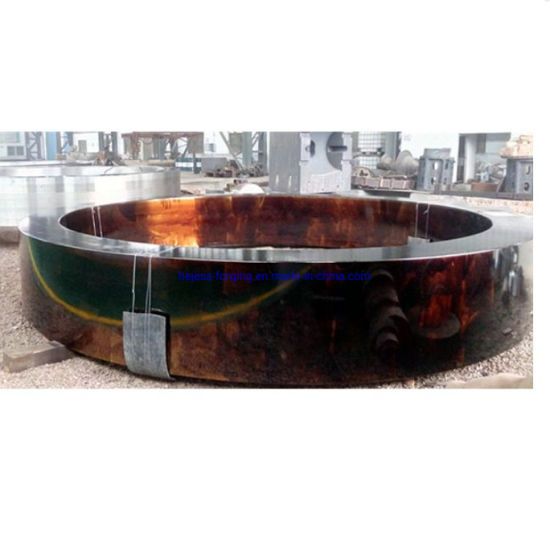 Foundry Custom Precisely Steel Flange Forging Used for Oil Field Spare Part