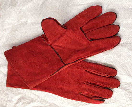 Colorful Safety Welding Industry Useing Labor Gloves