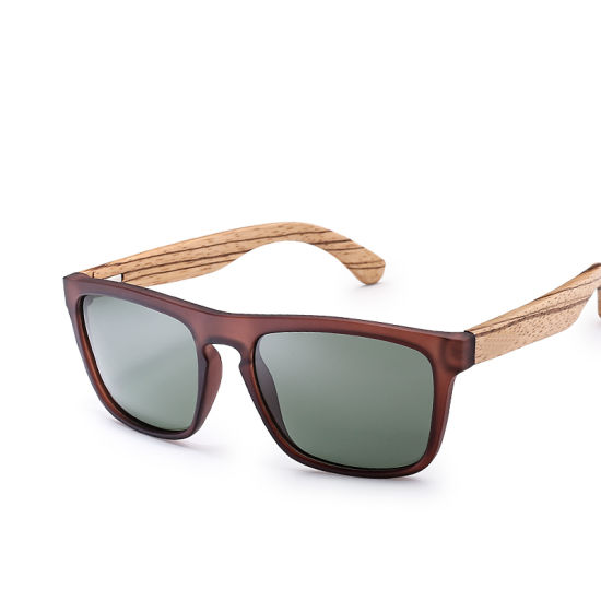 6f1fd03d0a23 Hot Selling High Quality Cheap Fashion PC Frame Wood Temple Polarized  Bamboo Sunglasses