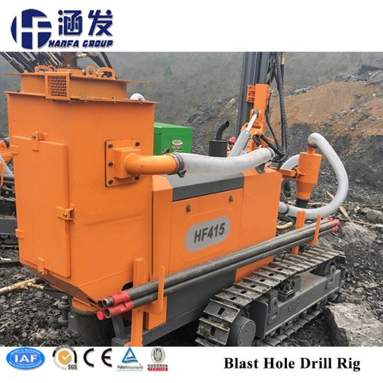 Rock Mining DTH Drilling Rig (HF415) pictures & photos
