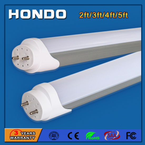 Parking Lot &Office Light Fixture 1.2 M T8 LED Fluorescent Lamp 4FT