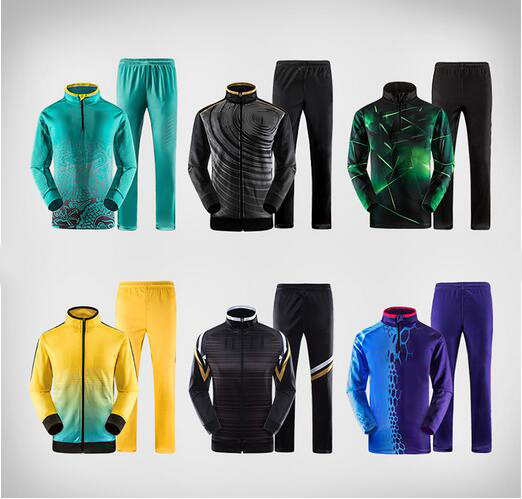 Custom High Quality Wholesale Polyester Men Women Sports Tracksuits pictures & photos