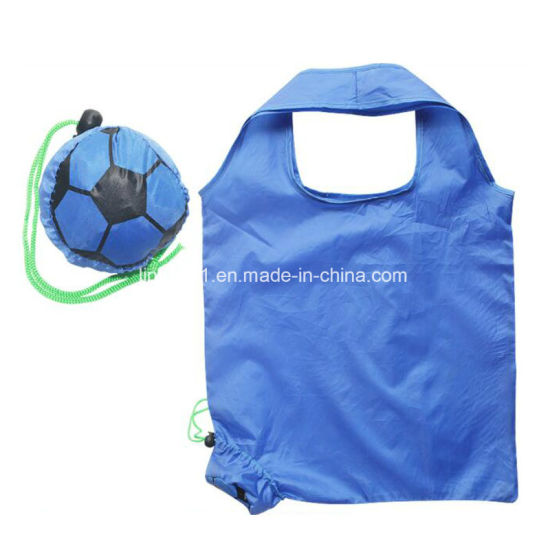 Custom 190t Polyester Folding Shopping Bag for Promotion Gift pictures & photos