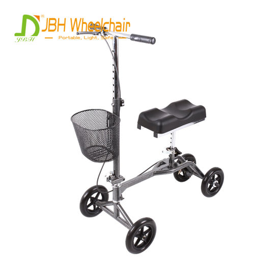 Adult Used Walking Rollator Knee Walker for Home Healthcare Equipment