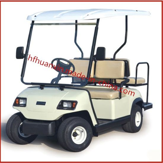 Wholesale 4 Seats Electric Cart for Hotel and Golf Course (HX-A2+2)