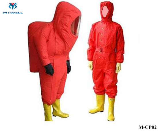 M-Cp02 Fire Retardant Protective Safety Clothing Fireproof Suit
