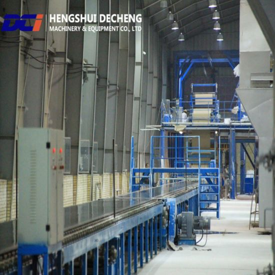 China Paper Surface Gypsum Board Manufacturing Plant