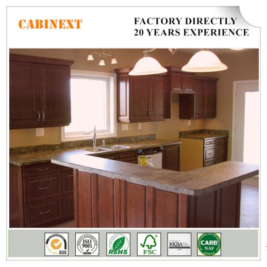 Popular Wholesale Chinese Wooden Kitchen Cabinet With Iso