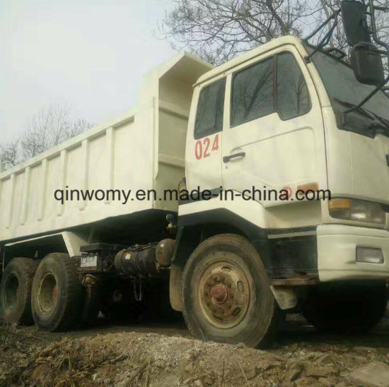 6X4 Heavy Duty Truck Nissan V8-Engine Tipping Truck Ready for Sale