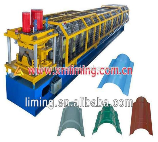Xiamen Liming Ridge Cap Roll Forming Machine