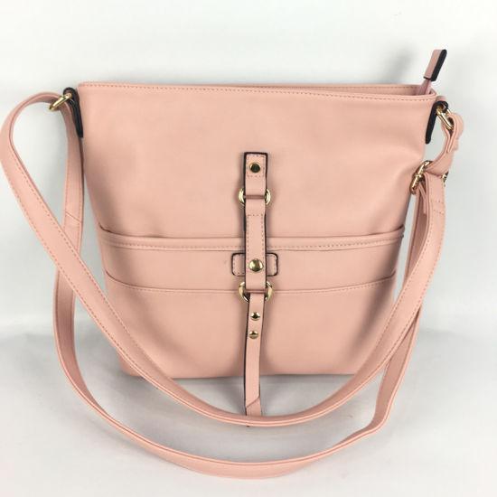 a339fed99 China Leisure Western Design Pink PU Leather Girls Sling Bag - China ...