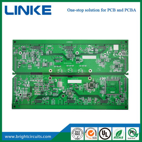 China Electronic Contract RoHS PCB Builder Fabrication and