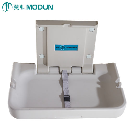 Wall Mount Ce Commercial Hygiene Horizonal Babyminder Nappy Changing Table  Infant Bebe Diaper Changing Unit Foldable Baby Changing Station