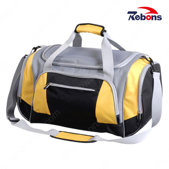 746c81c85c2f4d China Man Travel Organizer Gym Duffel Bags with Shoe Compartment ...