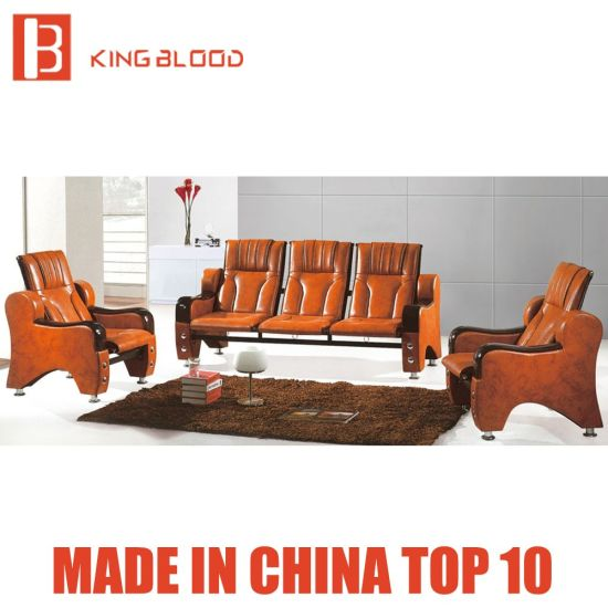 China Office Furniture Leather Sofa Sets For Tall People China