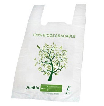Biodegradable Bag / Compostable Eco-Friendly Poly Bag / Shopping Bag