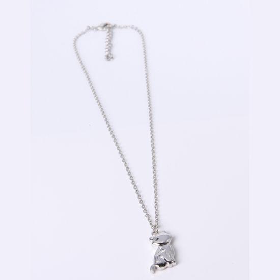 Mini Fashion Jewelry Alloy Squirrel Pendant Necklace