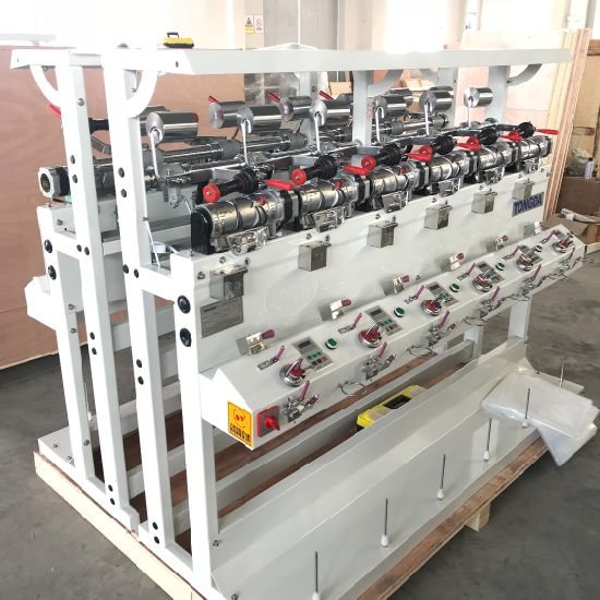 Grooved Drum Machine for Winding Different Kind of Yarn with High Quality  Drum