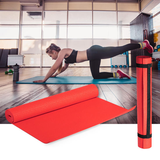 Waterproof Durable Indoor Sport Exercise Fitness Yoga Mat with Carry Bag