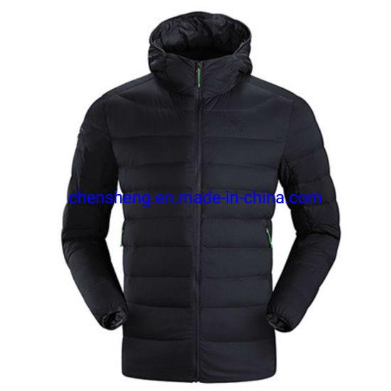 Men and Women Unisex Ski Cheap Plain Bomber Winter Light Down Couple Clothes Jacket