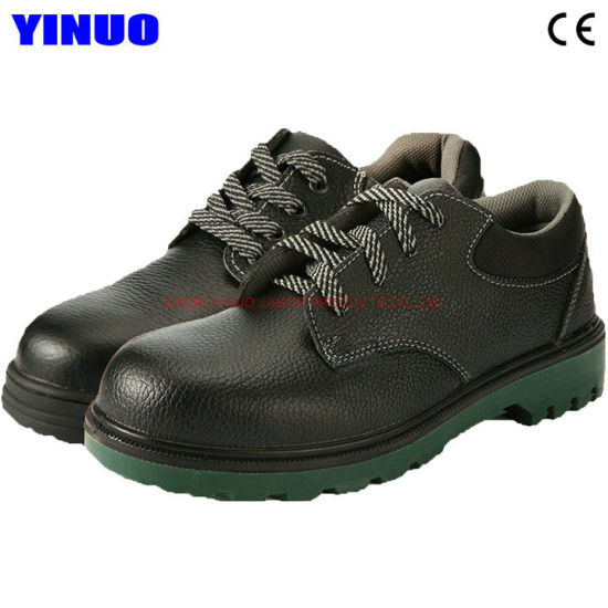 China Genuine Leather Safety Footwear