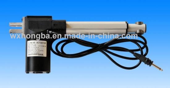 Aluminum Alloyed Linear Push Pull Solenoid Actuator