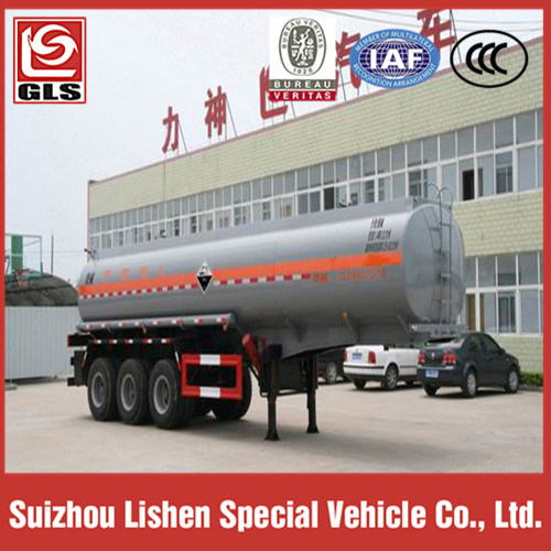 25000 Liters Chemical Liquid Tank Semi Trailer for Corrosives pictures & photos