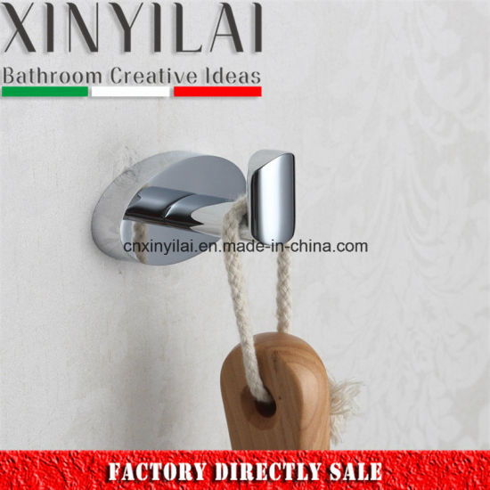 Special Economic Oval Brass Chrome Single Robe Hook pictures & photos