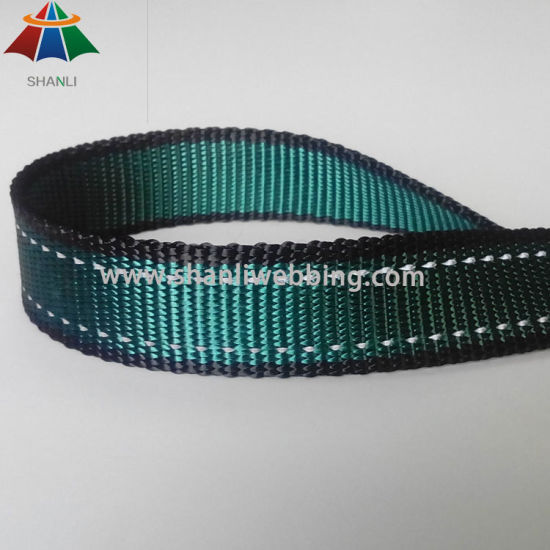 Imitation Nylon Webbing, Reflective Webbing for Dog Collar Dog Leash