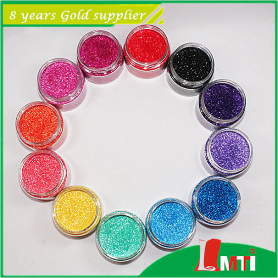 Industrial Fine Glitter Powder for Leather pictures & photos