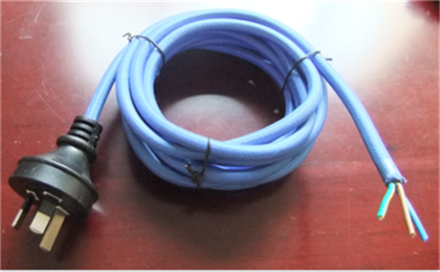 Power Cord Fabric Wire with Plug
