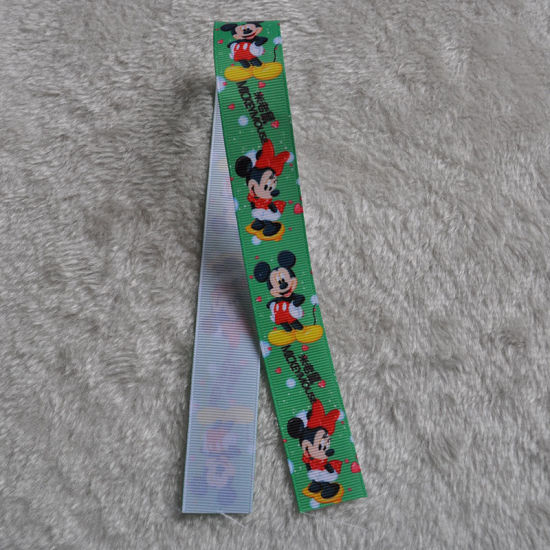 Wholesale Customized Printed Grosgrain Ribbon pictures & photos
