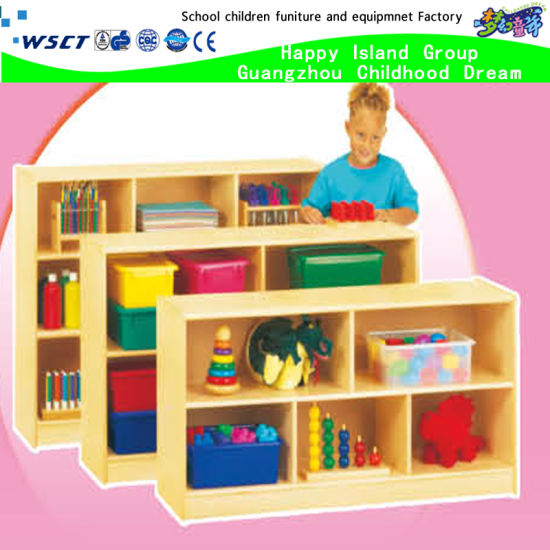 Kindergarten Toy Cabinets Classroom Furniture Kids Cabinet (HB 3901)