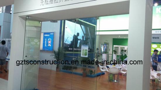 China Frameless Glass Folding Door Made In Guangzhou China Door