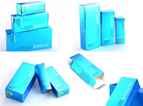 Eco-Friendly Folding Card Paper Cosmetic Packaging Boxes