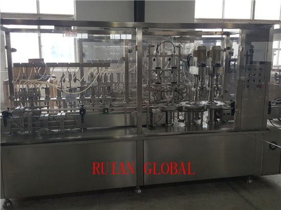 Syrup Filling and Capping Machine for Bottle pictures & photos