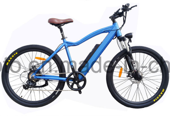 Hidden Battery Fat Tire 26inch Mountain Electric Bicycle pictures & photos