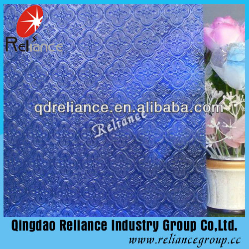 3.5mm Blue/Grey/Bronze Flora/Nashiji/Karatachi Figured/Patterned Glass pictures & photos