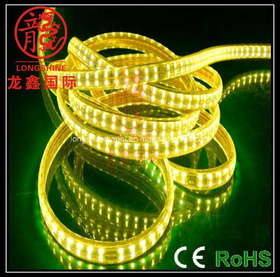 China outdoor decoration double row 5050 led strip light china outdoor decoration double row 5050 led strip light mozeypictures Images