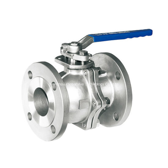 ISO Flange Ball Valve with CF8 Material pictures & photos