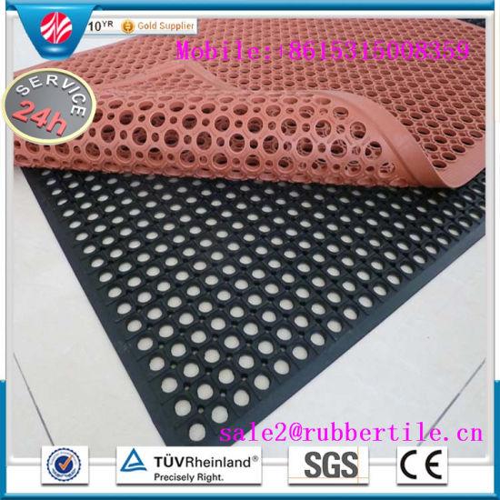 China Antibacterial Anti-Slip Hotel Rubber Floor Mats, Kitchen Sink ...