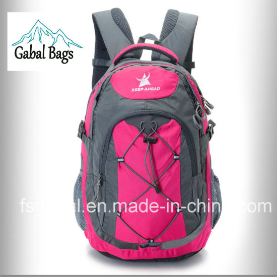 Nylon Bag Backpack for School, Student, Laptop, Hiking, Travel pictures & photos