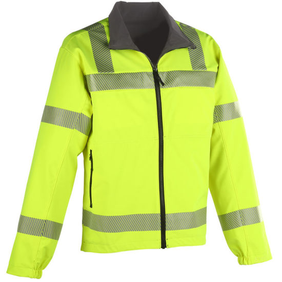Tactical Reversible Hi Vis Softshell Jacket