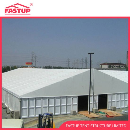 Big Warehouse Tent with Aluminum Panels Wall for Storage