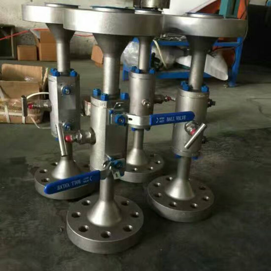Handle Operation Flanged Dbb Ball Valve pictures & photos